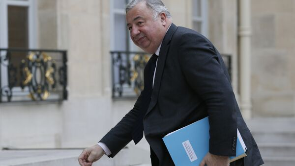 Senate President Gerard Larcher arrives at the Elysee Palace on February, 18, 2015 in Paris - Sputnik France