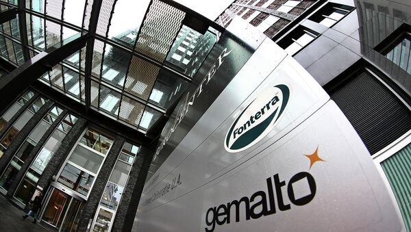 Exterior view of the building housing the head office of Gemalto, which produces subscriber identity modules, or SIM cards, in Amsterdam, Netherlands - Sputnik France