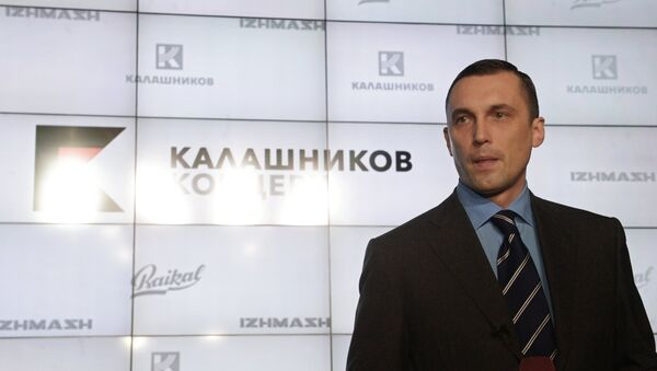 Презентация нового бренда концерна Калашников - Sputnik France