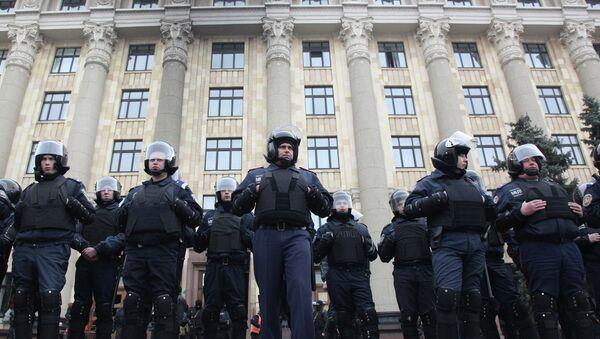 Kharkiv policemen - Sputnik France