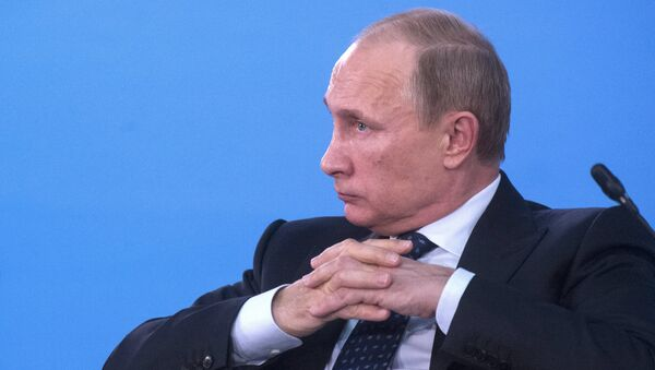 Wladimir Putin - Sputnik France