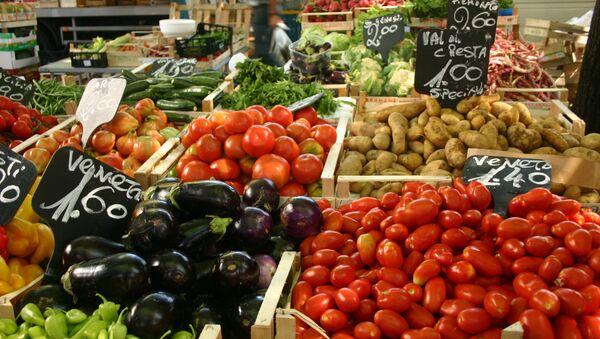Légumes au marché italien - Sputnik France