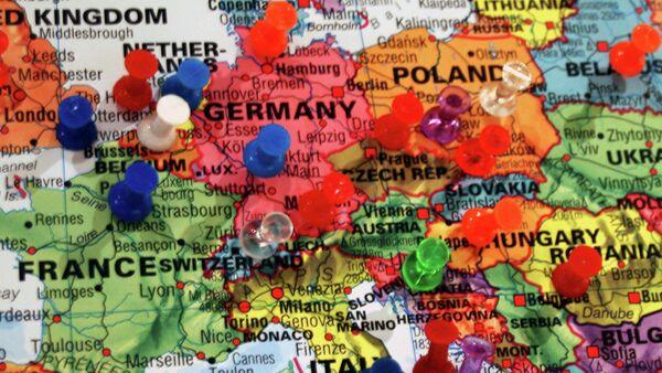 Carte de l'Europe - Sputnik France
