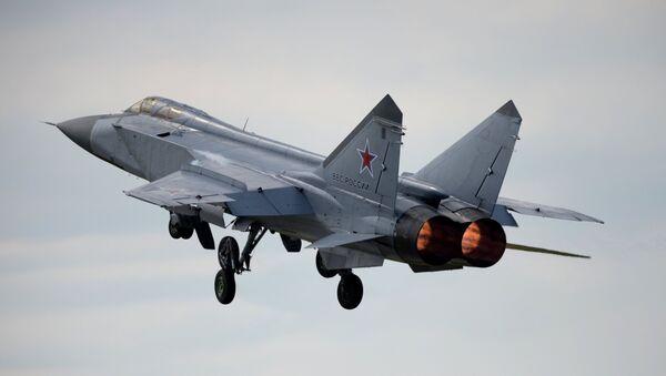 Un chasseur russe MiG-31 - Sputnik France