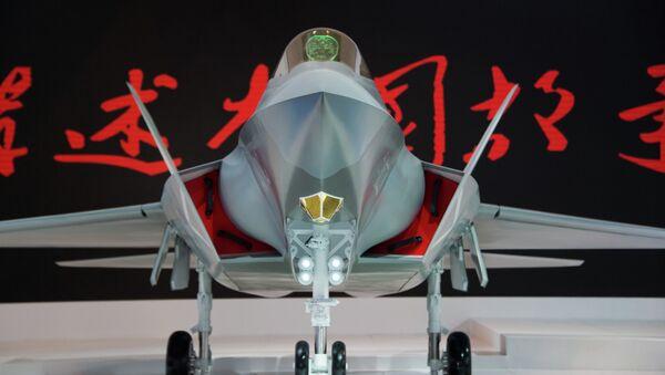 Chasseur chinois J-31 (maquette) construit par AVIC - Sputnik France