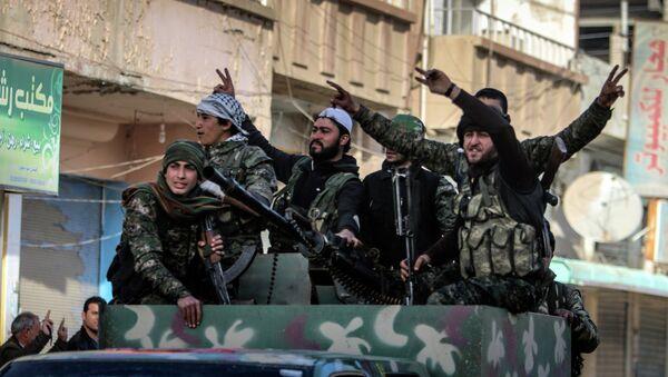 Des combattants kurdes - Sputnik France