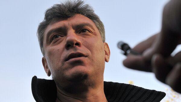 Boris Nemtsov - Sputnik France