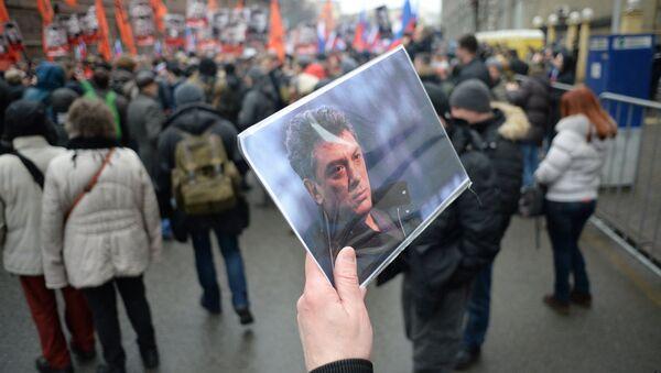 Cérémonie d'adieu à Boris Nemtsov - Sputnik France