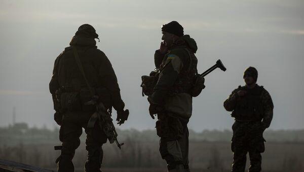 Militaires ukrainiens dans le Donbass - Sputnik France