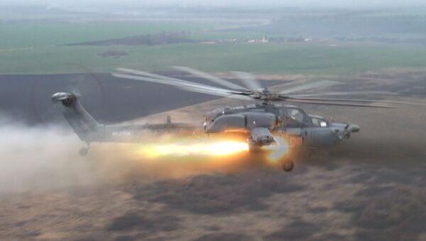 Les hélicoptères russes Night Hunter et Terminator en action - Sputnik France