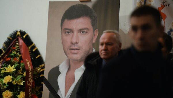 Прощание с политиком Борисом Немцовым в Москве - Sputnik France