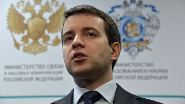 Russian Minister of Communications and Mass Media Nikolai Nikiforov - Sputnik France