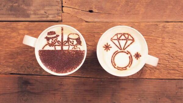 L'histoire émouvante de deux tasses de café - Sputnik France
