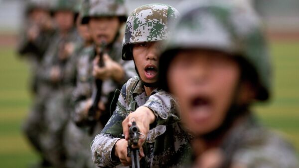 des soldats chinois - Sputnik France