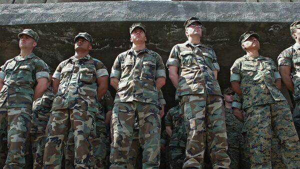 U.S. army instructors - Sputnik France