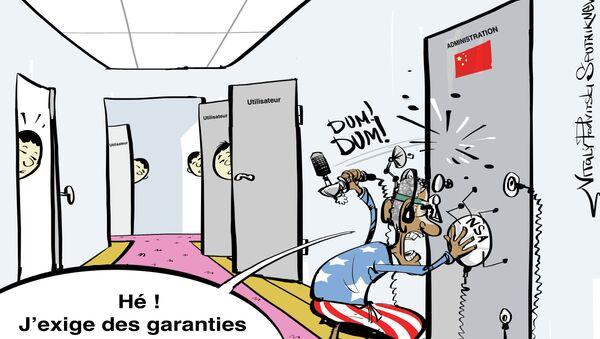 Obama a appelé la Chine à revoir sa politique de sécurité informatique - Sputnik France