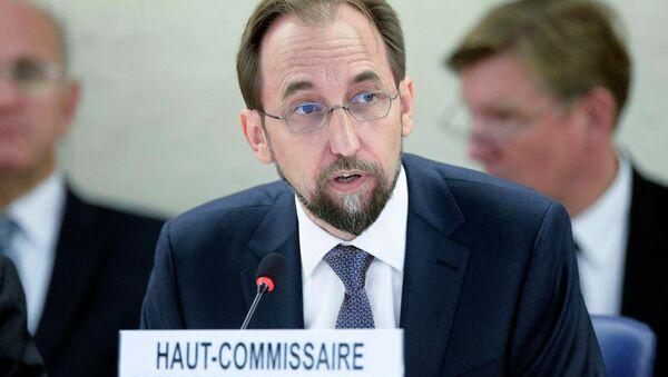 Zeid Ra'ad Zeid Al Hussein, United Nations High Commissioner for Human Rights - Sputnik France