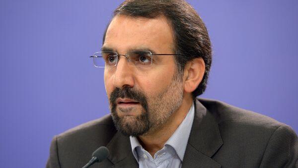 Press conference by Iranian ambassador Mehdi Sanai to Russia - Sputnik France