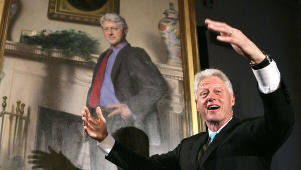 L'ancien président américain Bill Clinton - Sputnik France
