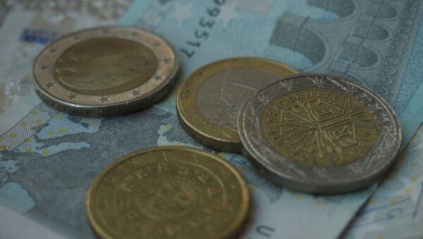Euro coins and banknotes - Sputnik France