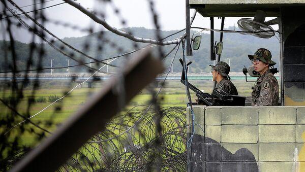 Soldats sud-coréens - Sputnik France