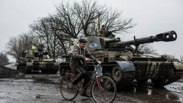 Troupes gouvernementales ukrainiennes - Sputnik France