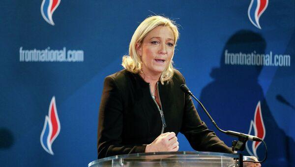 Марин Ле Пен, лидер партии Национальный фронт - Sputnik France