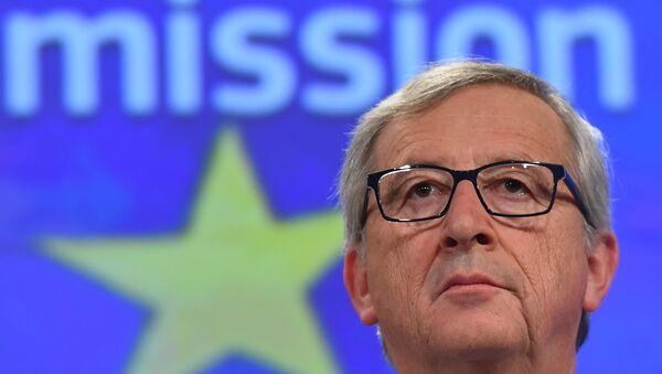 Jean-Claude Juncker,  président de la Commission européenne - Sputnik France