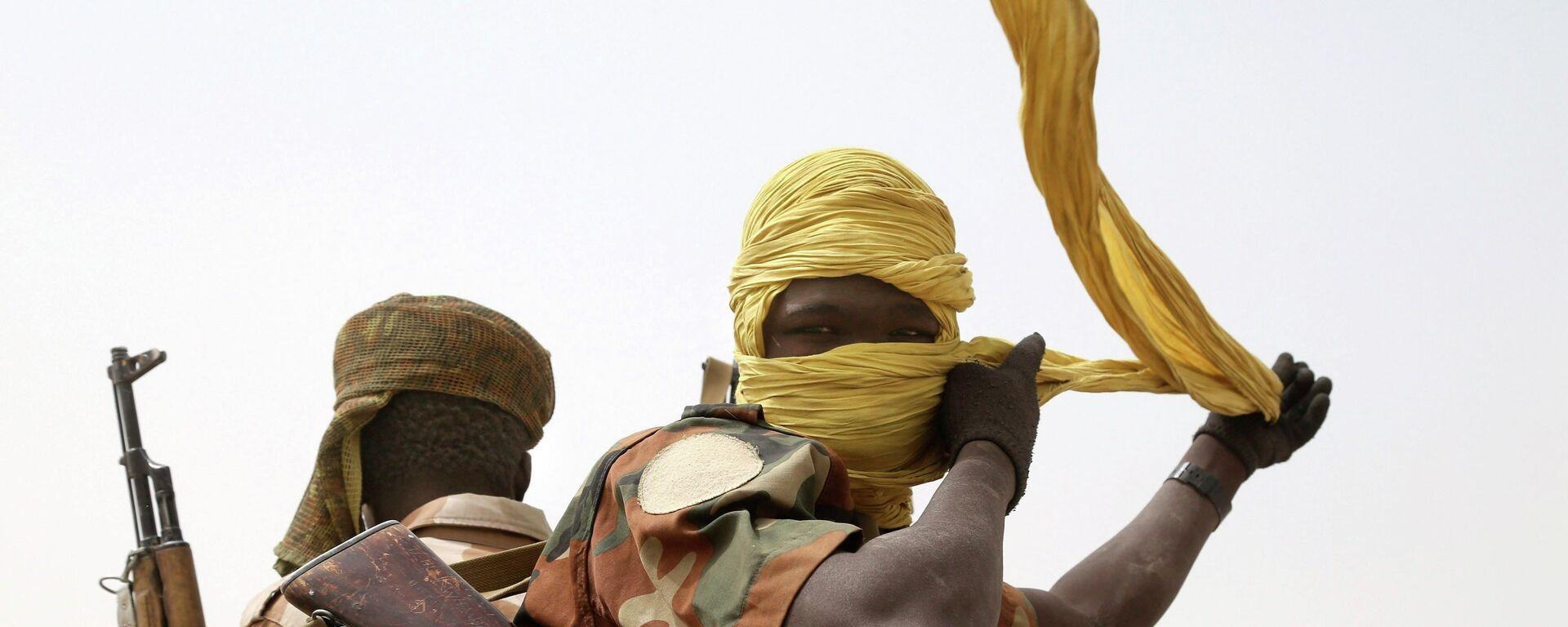 Des soldats tchadiens - Sputnik France, 1920, 09.08.2019