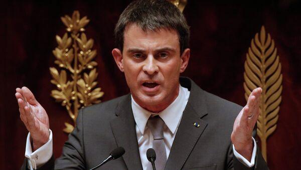 Premier ministre français Manuel Valls - Sputnik France