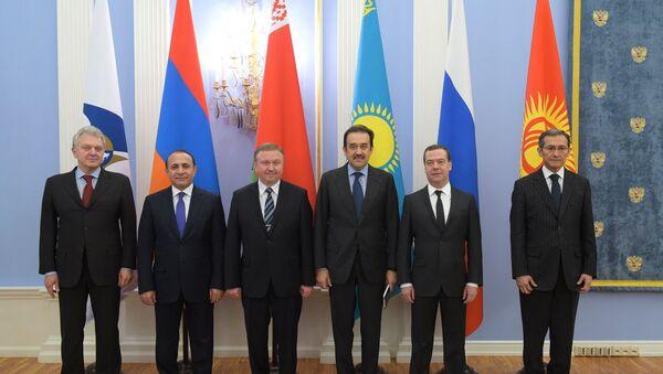 Первое заседание межправительственного совета ЕАЭС - Sputnik France