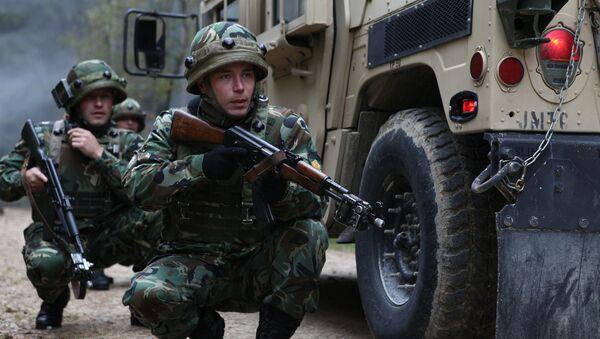 Militares de la OTAN - Sputnik France
