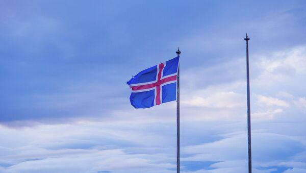 Le drapeau de l'Islande - Sputnik France