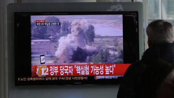 Expert US: Pyongyang capable de fabriquer 100 charges nucléaires d'ici 2020 - Sputnik France