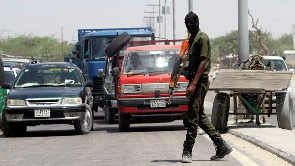 Membre des forces de sécurité somalienne à Mogadiscio - Sputnik France