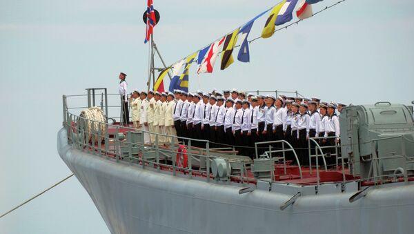 Servicemen of the Black Sea Fleet during Navy Day parade rehearsal in Sevastopol - Sputnik France