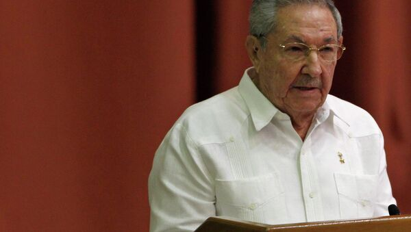 Cuba's President Raul Castro addresses the audience during the National Assembly in Havana December 20, 2014. - Sputnik France