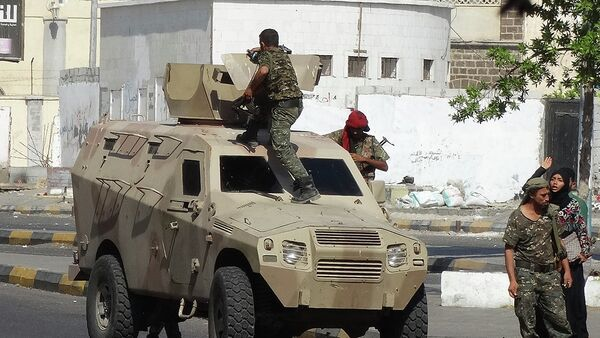 Yemeni security forces are deployed on the street in the southern city of Aden - Sputnik France