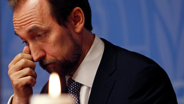 Zeid Ra'ad Al Hussein - Sputnik France