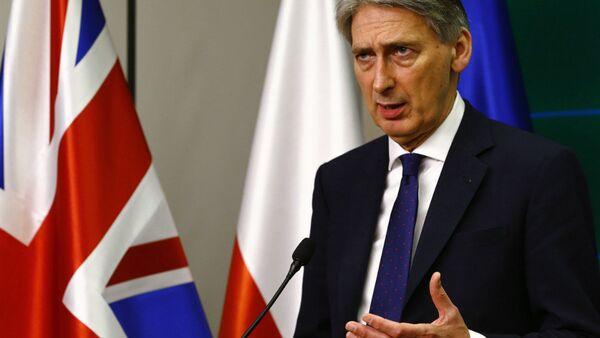 Britain's Foreign Secretary Philip Hammond - Sputnik France