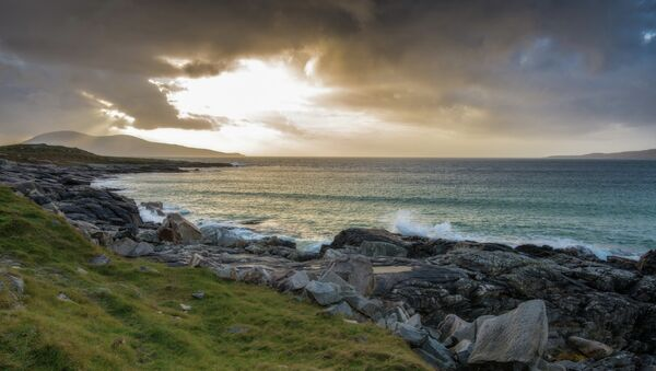 The beach at Borve...rocky, wild and golden in that amazing Hebridean light. - Sputnik France