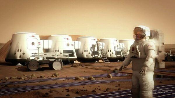 Mars One - Human Settlement of Mars - Sputnik France