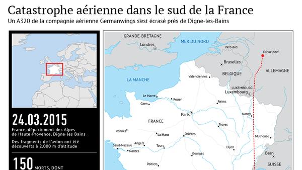 Crash d'un A320 allemand dans les Alpes - Sputnik France