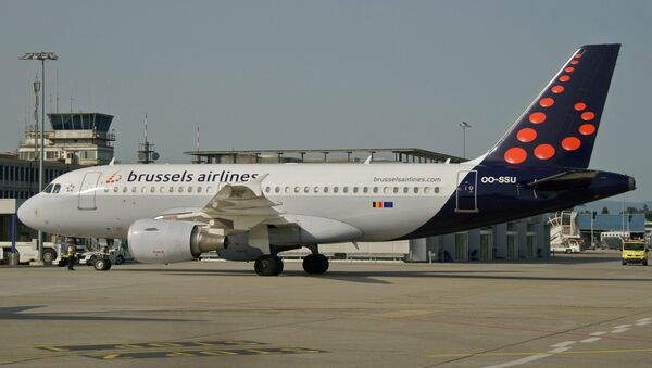 Un Airbus A319-111 de Brussels Airlines (image d'illustration) - Sputnik France