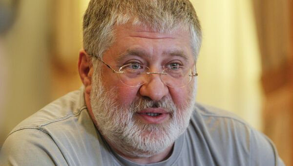 Igor Kolomoisky, billionaire and governor of the Dnipropetrovsk region, speaks during an interview in Dnipropetrovsk in this May 24, 2014 file photo. - Sputnik France