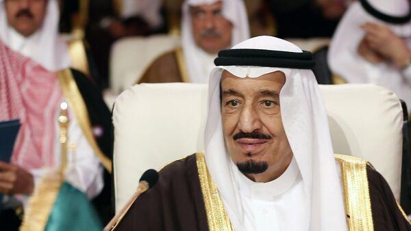 A file picture taken on March 26, 2013 shows Saudi Crown Prince Salman bin Abdul Aziz al-Saud attending the opening of the Arab League summit in the Qatari capital Doha - Sputnik France