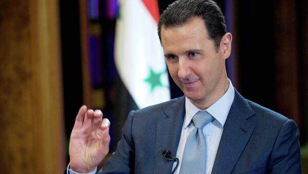 Assad rend sa démission conditionnelle à une victoire sur l'EI - Sputnik France