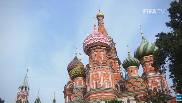 Mondial de football 2018: la FIFA présente Moscou - Sputnik France