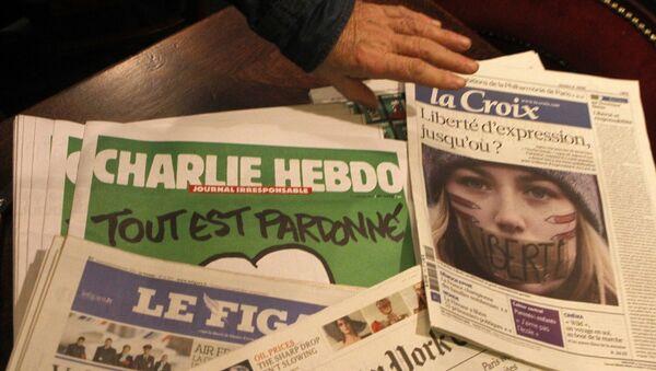 Des journaux Charlie Hebdo - Sputnik France