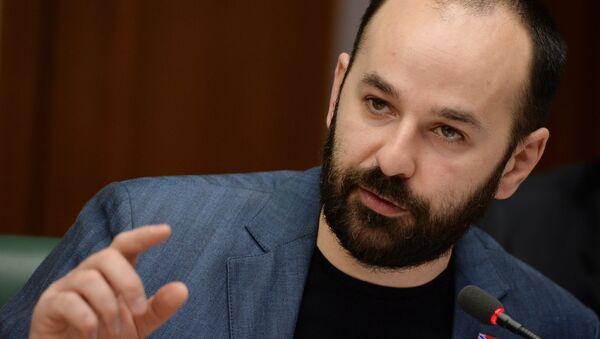 Заседание Комитета общественной поддержки жителей юго-востока Украины - Sputnik France